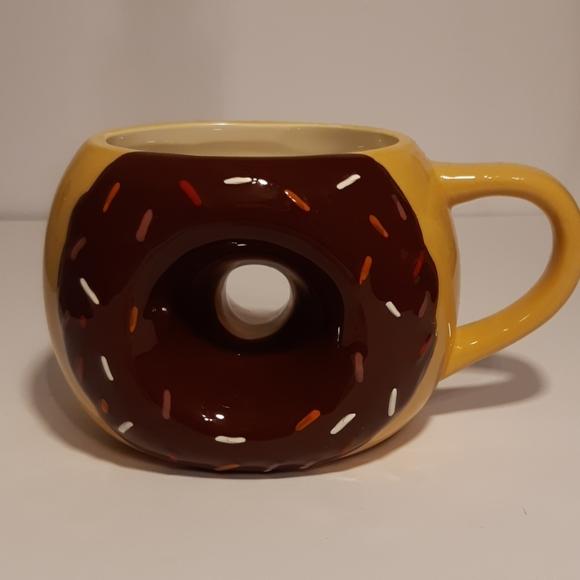 Large Donut Mug